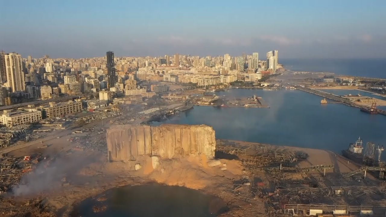Beirut tragedy from the air